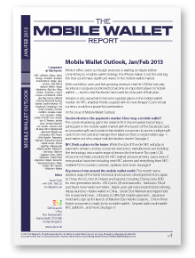 Mobile Wallet Outlook, February 2013