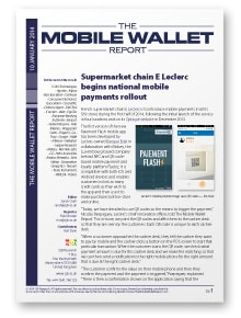 The Mobile Wallet Report, 10 January 2014