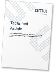 AMS's NFC sensor white paper