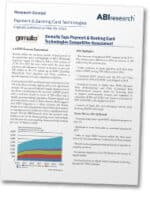 ABI Research's May 2015 Payment & Banking Card Technologies report