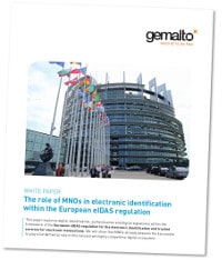Gemalto role of MNOs in electronic ID within European eIDAS regulation