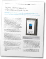 USAT Targeted Advertising leads to Apple Pay surge white paper