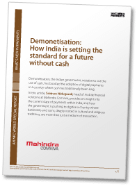 Demonetisation: How India is setting the standard for a future without cash