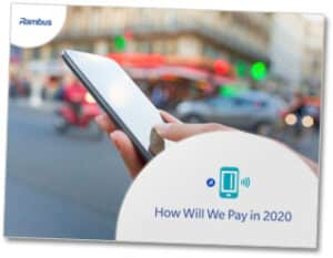 Rambus How Will We Pay in 2020 ebook