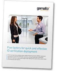 Gemalto's ID verification white paper
