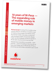 10 years of M-Pesa — The expanding role of mobile money in emerging markets