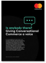 Covershot: Is anybody there? Giving Conversational Commerce a voice