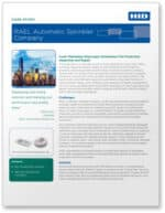 Covershot: 'Case study: Rael Automatic Sprinkler Company'