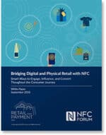 Bridging digital and physical retail with NFC