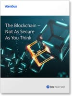 Cover shot: The blockchain - not as secure as you think