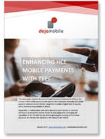'Securing HCE mobile payments with TEEs' white paper covershot