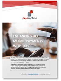 Enhancing HCE mobile payments with TEEs