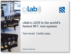 "Covershot - ""Introducing Cilab: Test smart. Certify easy."""