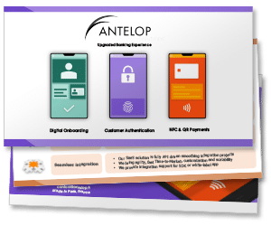 Antelop's upgraded banking experience presentation