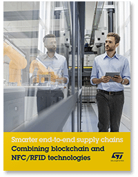 Covershot: Smarter end-to-end supply chains: Combining blockchain and NFC/RFID technologies