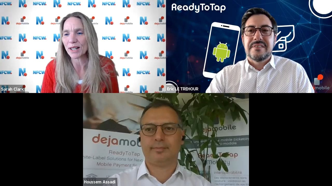 Dejamobile ReadyToTap Payment for Merchants video still
