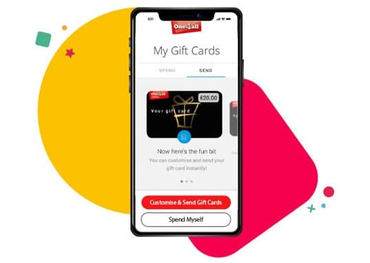 One4all digital gift cards, powered by Dejamobile