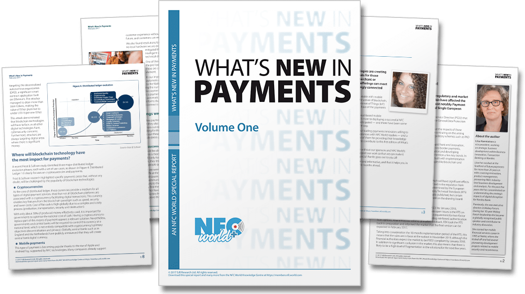 What's New in Payments 1