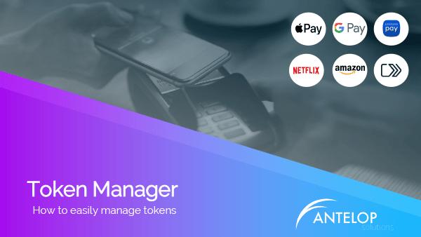 Antelop Token Manager webinar cover slide